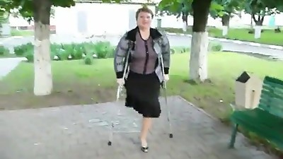 ONE LEGGED WOMAN
