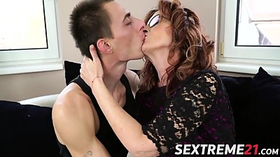 Horny guy Levy drills a sophisticated..