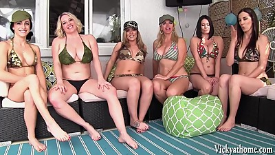 Vicky Vette's Neighborhood Orgy!..