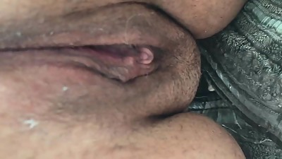 Mature BBW dripping pussy