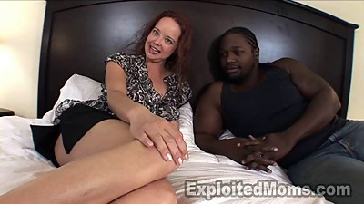 Huge Big Black Cock Punishes  Amateur..